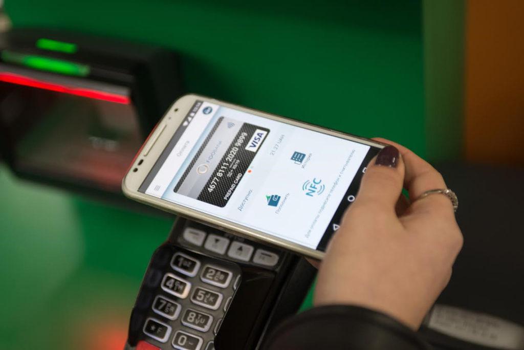 оплата смартфоном как картой