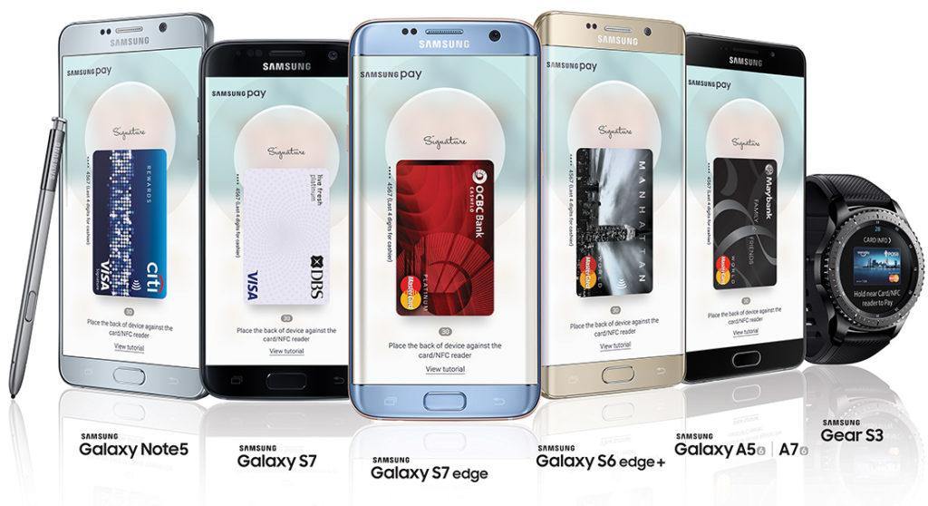Какие телефоны поддерживают Samsung Pay?