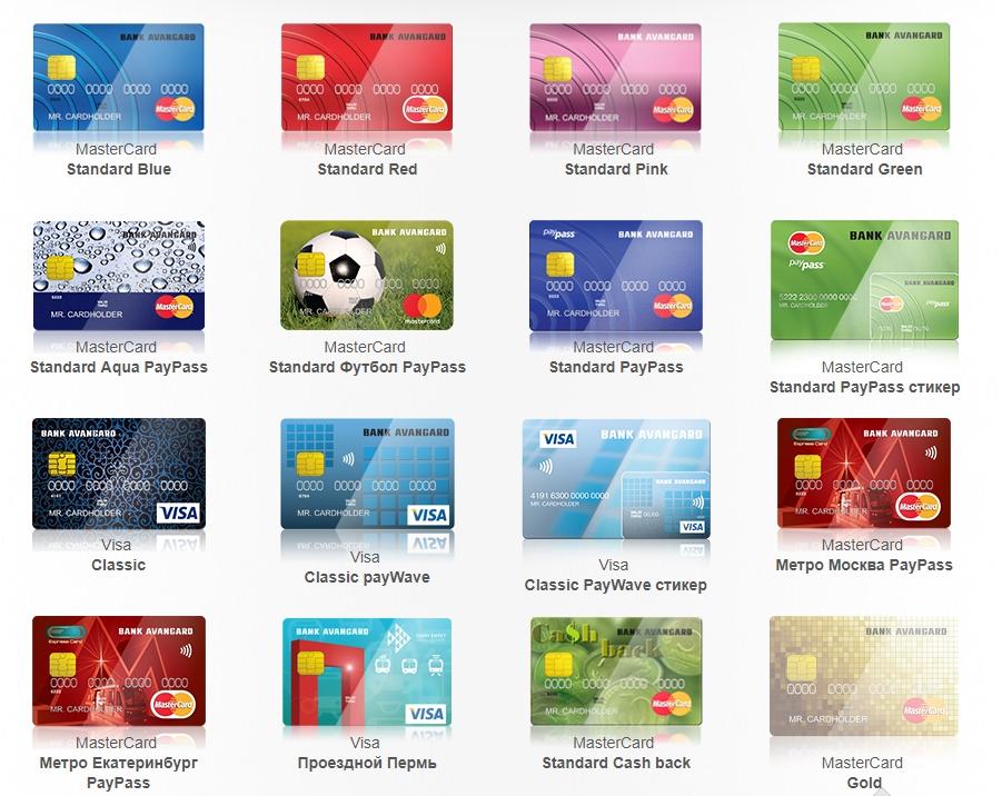 Преимущества дебетовых карт банка Авангард, заказ карты и условия пользования
