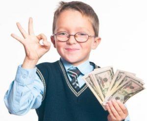 Как зарабатывать деньги школьнику?