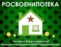 Росвоенипотека: отслеживание документов, личный кабинет, кредитные программы
