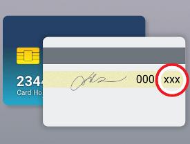 Защита CCV и CCV2: где расположены коды на картах, и когда их применяют