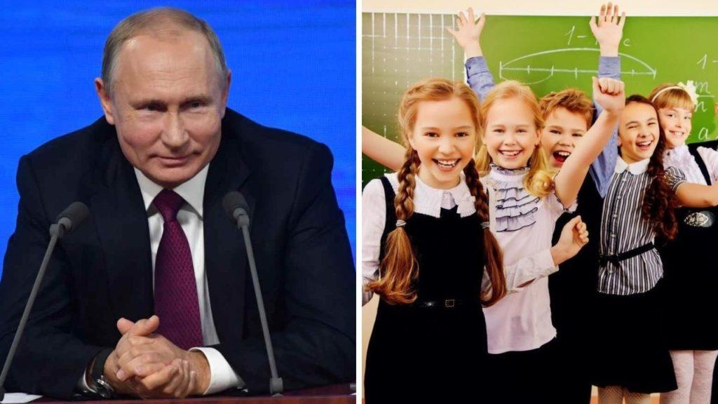 Повторная президентская выплата 10000 рублей школьникам в октябре
